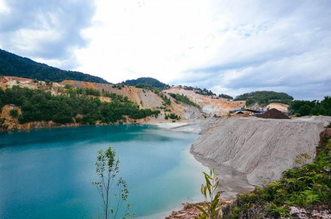 Tasik Biru Malaysia, Pahang, Bukit Ibam
