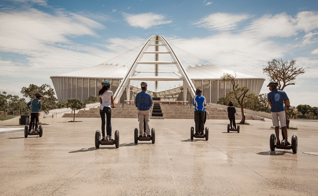 Segway tour things to do in durban